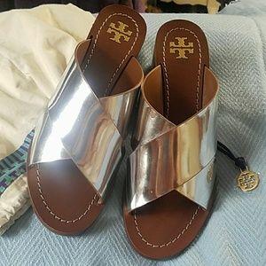 """Tory Burch 2""""heel sandals"""